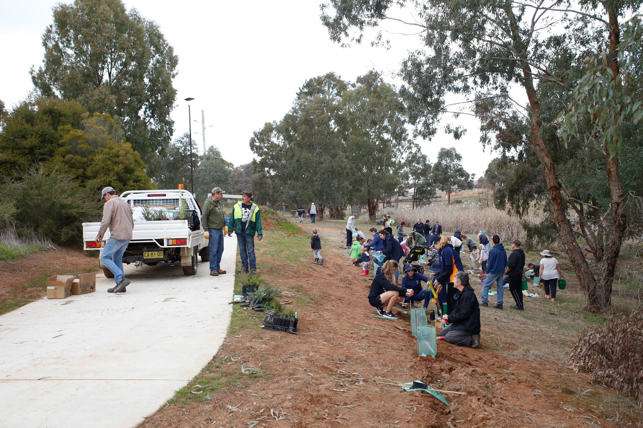 National Tree Day 2017 – Linear Park
